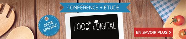 Food & Digital : offre spéciale