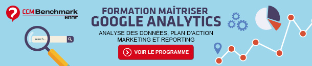 Formation Maîtriser Google Analytics